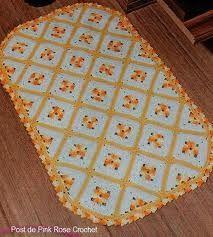 tapetes de croche para cozinha com linha barroco - Pesquisa Google