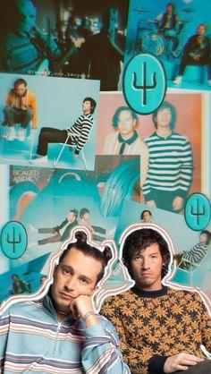 Tyler Y Josh, Tyler Joseph, Music X, Music Is Life, Twenty One Pilots Songs, Twenty One Pilots Poster, Emo Bands, Music Bands, Twenty One Pilots Aesthetic