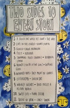 Friday Playlist: Two Sides to Every Story - Rookie Easy Listening Music, Sound Of Music, Music Is Life, Singing Lessons, Singing Tips, Learn Singing, Music Mood, Mood Songs, Mazzy Star