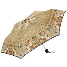 Umbrella featuring a scene from the Book of the Dead of Hunefer. (British Museum Gift Shop)