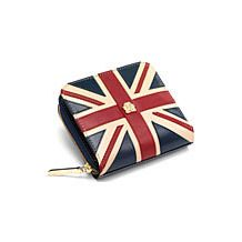 Brit Mini Continental Zipped Coin Purse. Ladies Wallets & Purses from Aspinal of London