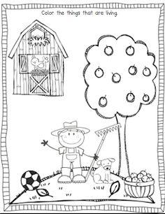 living and non living things worksheets science kindergarten science preschool science. Black Bedroom Furniture Sets. Home Design Ideas