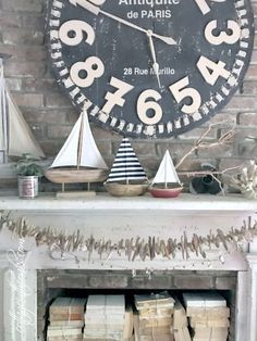 Summer Mantel Ideas and Inspiration ::: Cottage in the Oaks