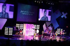 Rockford First (Rockford, IL) - Love Works Sermon Series Stage - 2012