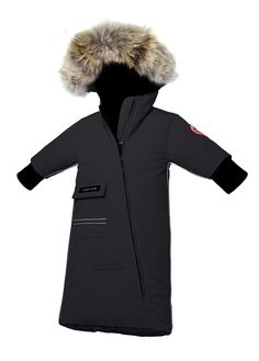 Canada Goose Snø Bunting Svart Baby-Norge