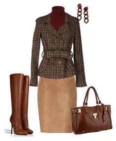 """Winterberry Caramel Chocolate"" by sweetnuff ❤ liked on Polyvore featuring Giuseppe Zanotti, AllSaints, Sinequanone, Lucca Couture and Coppola e Toppo"