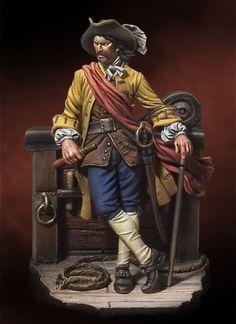 """William """"kapitan"""" Kidd (ur. 22 stycznia 1645, zm. 23 maja 1701) – jest uważany za jednego z najokrutniejszych i najkrwawszych piratów XVII wieku. Legenda Kapitana Kidda opiera się głównie na wierze, że zakopał gdzieś swe legendarne skarby. Znalazło to swe odbicie w literaturze: Edgar Allan Poe napisał Złotego żuka, a Robert Louis Stevenson Wyspę Skarbów. Od końca XVIII wieku trwa nieustanne poszukiwanie skarbu Kidda  Marynistyka.org, Marynistyka.pl, Marynistyka.eu, Sklep.marynistyka.org"""