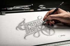 With this free PSD mockup, you can display your artwork, sketches, logo designs or branding projects in a professional sketchbook Paper Logo, Logo Sketches, Free Mockup Templates, Hand Drawn Logo, Free Hand Drawing, Free Photoshop, How To Draw Hands, Branding, Cloud
