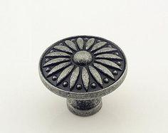 Antik Silber Knauf Kommode Knöpfe / Retro Küchenschrank ziehen Knöpfe Möbelbeschläge