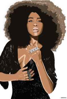 Black Women Art! (NSFW), http://abbysvision.tumblr.com/ Illustration Abby...