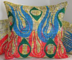 christian joy  bright blooming pillow