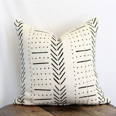 Mudcloth Pillow - Kh