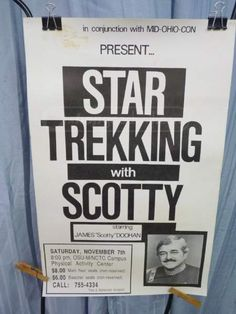 shopgoodwill.com: Star Trek Scotty  Poster