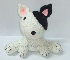 Puppy 748  Finished Handmade Amigurumi crochet by Ivy1312Crochet, $22.50
