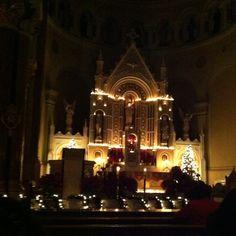 Go to Midnight Mass - Preferably on Christmas Eve