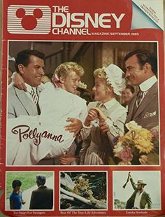 1985 - September - The Disney Channel Magazine - Pollyanna Cover @ niftywarehouse.com #NiftyWarehouse #Geek #Gifts #Collectibles #Entertainment #Merch