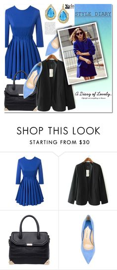 """""""SheIn #7 (VII)"""" by cherry-bh ❤ liked on Polyvore featuring Paul Andrew, Effy Jewelry and shein"""