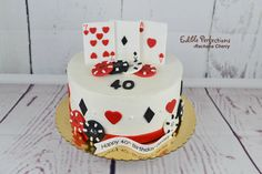 Excited to share this item from my shop: Casino Theme cake toppers, Las Vegas cake toppers 30th Birthday Themes, Guys 21st Birthday, Vegas Birthday, Birthday Cakes For Men, Birthday Favors, Poker Cake, Poker Cupcakes, Las Vegas Cake, Baby Boy Cake Topper