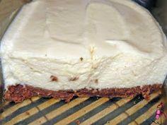 Mousse de maracuyá con base de galletita