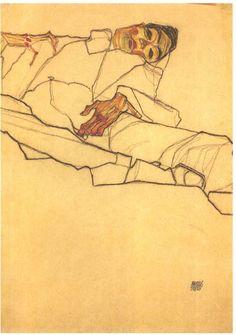 Egon Schiele - Max Oppenheimer 1910