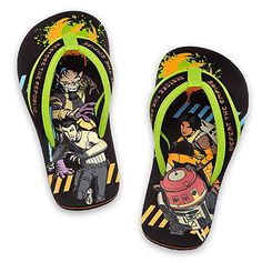 Disney Store  Boys  Star Wars Rebels  Flip Flops 1112 US Little Kid Black * Read more reviews of the product by visiting the link on the image.
