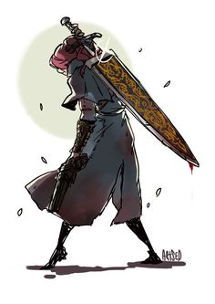 Like Seris, Scrap will use alot of different methods of killing her enemies, including guns and swords from an early age. Dark Souls Gifts, Dark Souls Art, Character Concept, Concept Art, Character Design, Fantasy Girl, Dark Fantasy, Old Blood, Dark Blood
