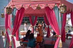 Tent Decorations, Festival Decorations, Festival Games, Festival Style, Arabian Tent, Strip Curtains, Outdoor Indian Wedding, Booth Decor, Wedding Designs