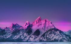 Laginate - Share HD, wallpapers with hundreds of selected topics. Grand Teton National Park, National Parks, Tumblr Photography, Nature Photography, Blue Sunset, Mountain Wallpaper, Nature Hd, Phone Backgrounds, Nice View