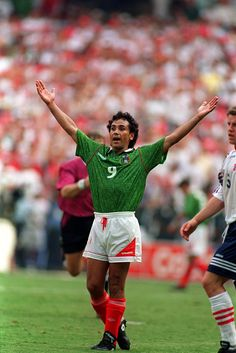 Who is the greatest soccer player of all time? Fans, pundits and players have hotly debated the question since the game's inception, arranging and rearranging the hierarchies with every generation of exhausted talent. Good Soccer Players, Football Players, World Football, Football Soccer, Hugo Sanchez, Mexico Soccer, Football Mexicano, Fifa, Best Player