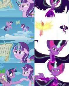 Twilight Sparkle and Starlight Glimmer, MLP