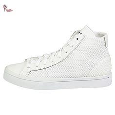 adidas , Chaussures de skateboard pour homme Blanc White Blanc White 37 1/3 - Chaussures adidas (*Partner-Link)