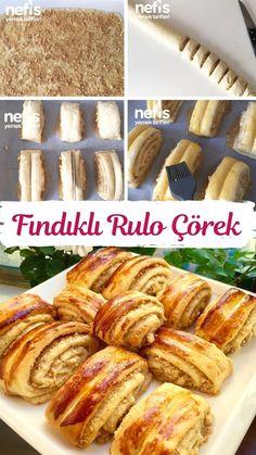 Pan Bread, Turkish Recipes, Hot Dog Buns, Truffles, Almond, Favorite Recipes, Cookies, Desserts, Montessori