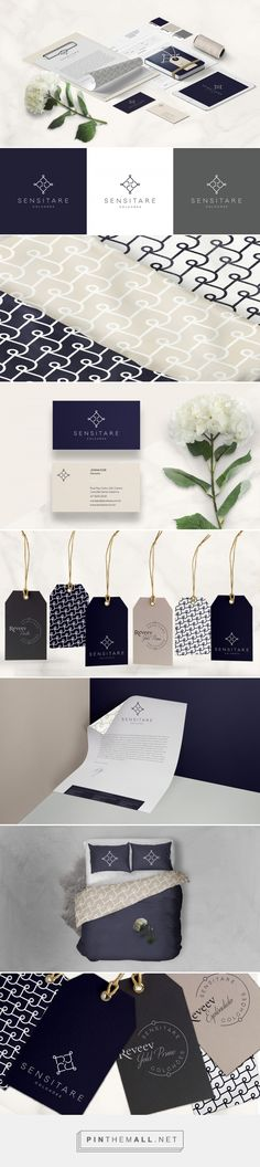 Sensitare Mattress Company Branding by Taina Ribovski | Fivestar Branding Agency – Design and Branding Agency & Curated Inspiration Gallery