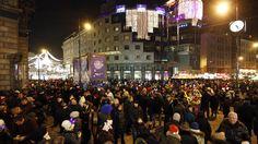 Vienna, Austria on the last night of the year!