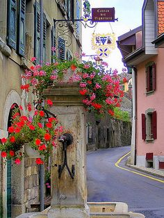 Lavaux-Epesses, Canton de  Vaud- Old fountain | Flickr - Photo Sharing!