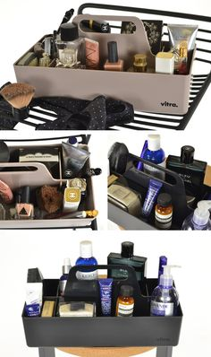 6 ways to style: your Vitra toolbox – Groomed to Perfection: http://www.nest.co.uk/blog/6-ways-to-style-your-vitra-toolbox