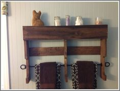 towel rack wood standing-#towel #rack #wood #standing Please Click Link To Find More Reference,,, ENJOY!! Wood, Interior Light Fixtures, Reclaimed Wood, Cool House Designs, Wood Stand, Reclaimed Pallet Wood, Reclaimed Wood Towel Rack, Wood Pallets, Towel Rack
