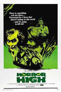 70's & 80's Horror Films: Horror High (1973)