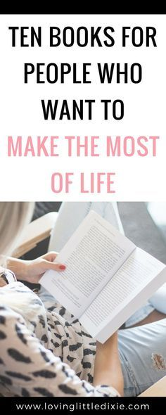 Ten books to read this year if you want to live intentionally. #intentionalliving #personaldevelopment #bookstoread #productivitytips