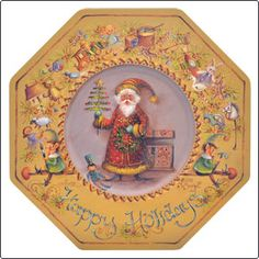 Toy Box Santa -  Jo Sonja patterns