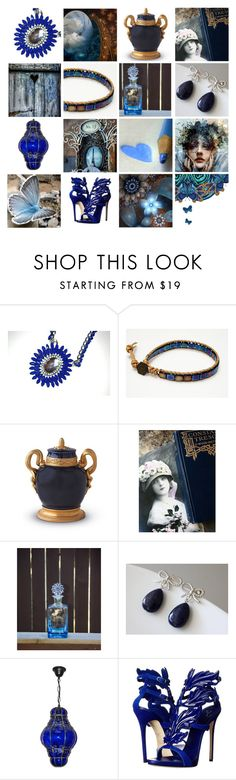 """""""Strange Magic"""" by funkyjunkygypsy ❤ liked on Polyvore featuring interior, interiors, interior design, home, home decor, interior decorating, L'Objet, Giuseppe Zanotti and All About Eve"""