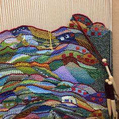tejiendo un tapiz...