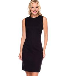 THE LBD! Let this dress work overtime and pair it with a cardigan for the boardroom and a bib necklace for an evening of cocktails. #fallfaves