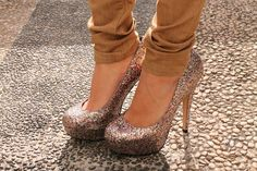 These shoes dress up any outfit!!