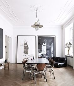 Are you looking for some great ideas to renovate your living space? We welcome you to our latest collection of 15 Modern Apartment Living Room Design Ideas. Modern Apartment, Dining Room Decor, Modern Interior Design, Interior Design, House Interior, Contemporary Apartment, Dream Decor, Home, Decor Interior Design