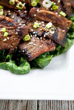 Galbi (Korean BBQ Beef Short Ribs) @Jen Laceda | Tartine and Apron Strings