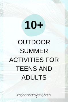 Summer Activities For Teens, Outdoor Activities For Adults, Diy For Teens, Family Game Night, Family Games, Family Activities, Blue Lotus, School Life, Outdoor Recreation