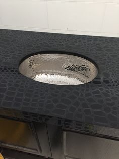 Sneak peek. Couldn't wait!  Work in progress however take a look at that top!  #black #crocidile #countertop #quartz #interiordesign #builders #tile #floortile #walltile #tilewarehouse #tilerug  #homedecor #bathdesign #whitethassos #blackandwhite #timeless #glassthassos #transitionaldesign #clinestone #clinemarble #blackandwhite #blackmarble #sharp #sheek #decorator #designers #instock #hammeredsteel #tile #tilewarehouse #longislandtile #newhydepark #newyorktile #waterjetmosaic #stevencline