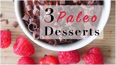 1. Paleo Marshmallows  2. Chocolate Mug Cake  3. Chocolate Mousse