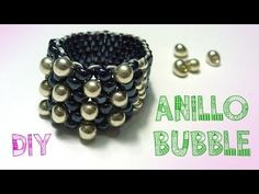 M DIY ANILLO BUBBLE PEYOTE ♥ Qué cositas - YouTube